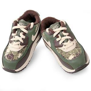 NIKE AIR MAX 90 camo TODDLER 307795-21 sneaker